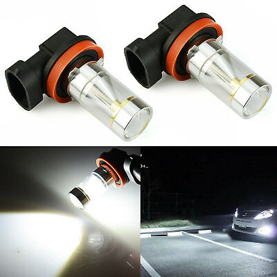 Jdm Astar 2X H16 H16w 64219 L  High Power Cree 6000K White Fog Light Led Bulbs
