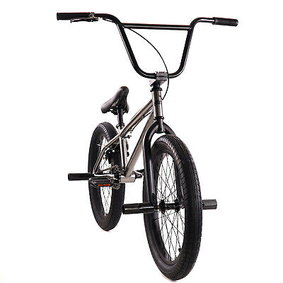 "Elite BMX 20"" Bike Stealth Freestyle Gunmetal NEW 2020"