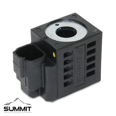 Deltrol 10226-70 Solenoid Coil Hydraulic Power Unit Lift Dump 10v 25w