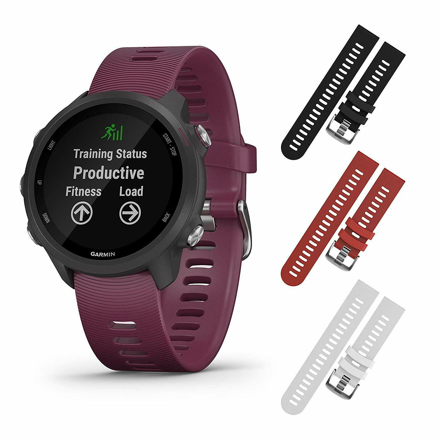 Garmin Forerunner 245 GPS Smartwatch with Included Wearable4