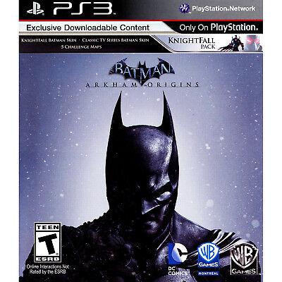 Batman: Arkham Origins PS3 [Brand New]