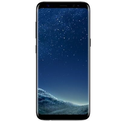 New Samsung Galaxy S8 SM-G950U 64GB Verizon Midnight Lowering Android Smartphone