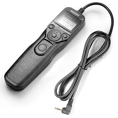 Neewer LCD Timer Shutter Release Remote Control for Canon 760D(T6s) /750D