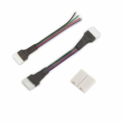 Diode Led Clicktight Rgb Tape Light 12 In Flexible Extension Pack Of 5