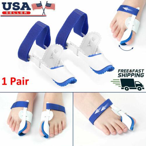 Big Toe Bunion Hallux Valgus Straighteners Night Splint Corrector Pain Relief US Foot Creams & Treatments