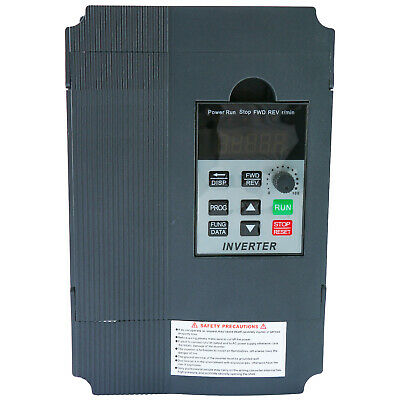 Hot 2.2kw 220v Ac 12a Single Phase Variable Speed Control Drive Converter Usa