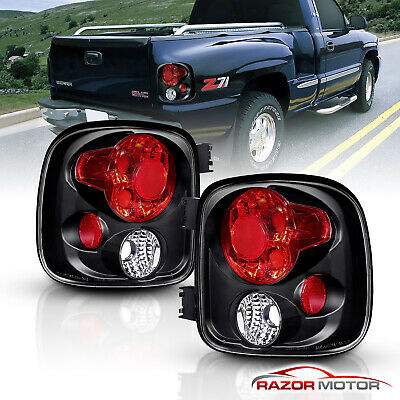 1999-2004 Chevy Silverado/GMC Sierra 1500 2500 3500 Stepside Tail Lights Pair