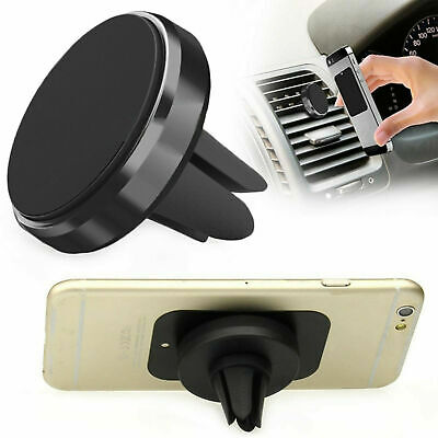 Universal Magnetic Mobile Phone Car Air Vent Mount Holder For iPhone Galaxy Sat