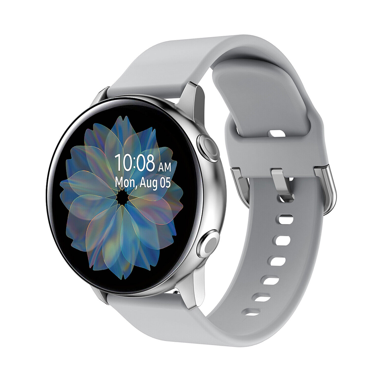 For Samsung Galaxy Watch Active 2 42 40 44mm Sport Silicone Band Bracelet Strap Jewelry & Watches