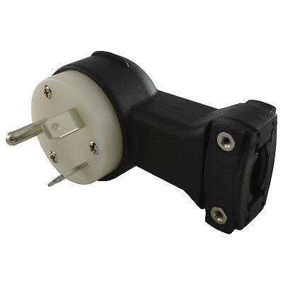 Conntek ASTT-30P RV Standard NEMA TT-30P Male Replacement 30 Amp RV Plug Flat