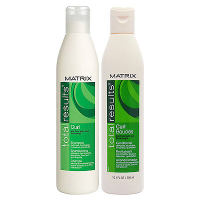 Matrix Total Results Curl Boucles Shampoo And Conditioner 10 1 Oz  Duo Pack