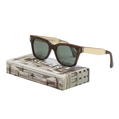 RETROSUPERFUTURE Super CFB America Francis Prospettiva Sunglasses Brown & (Super Sunglasses America)