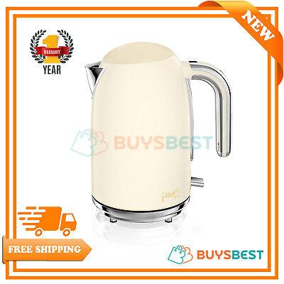 `Swan Fearne 1.7 Litre Quiet Boil Jug Kettle In Honey - SK34030HON