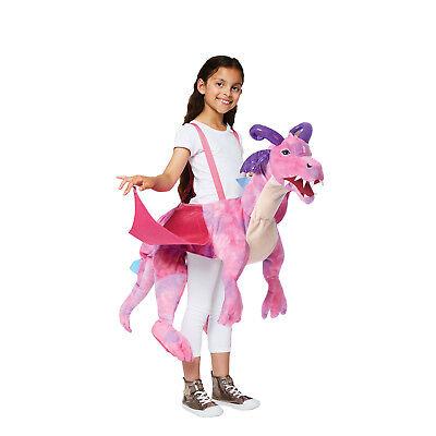 er Rutscher Rosa Drache Spielzeug Tier Verkleiden Buchwoche (Mädchen Verkleiden Jungen)