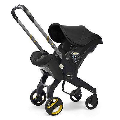 Doona Babyschale & Latch Base – Autositz zu Kinderwagen – Nitro Schwarz (US)