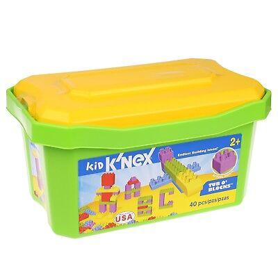 KNEX 85255 Bausteine Kiste 40 Teile TUB O BLOCKS Steckbausteine