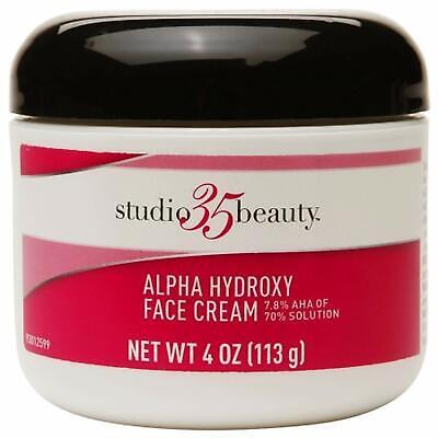 Alpha Cream - Studio 35 Beauty Face Cream with 7.8% Alpha hydroxy Aha 4oz