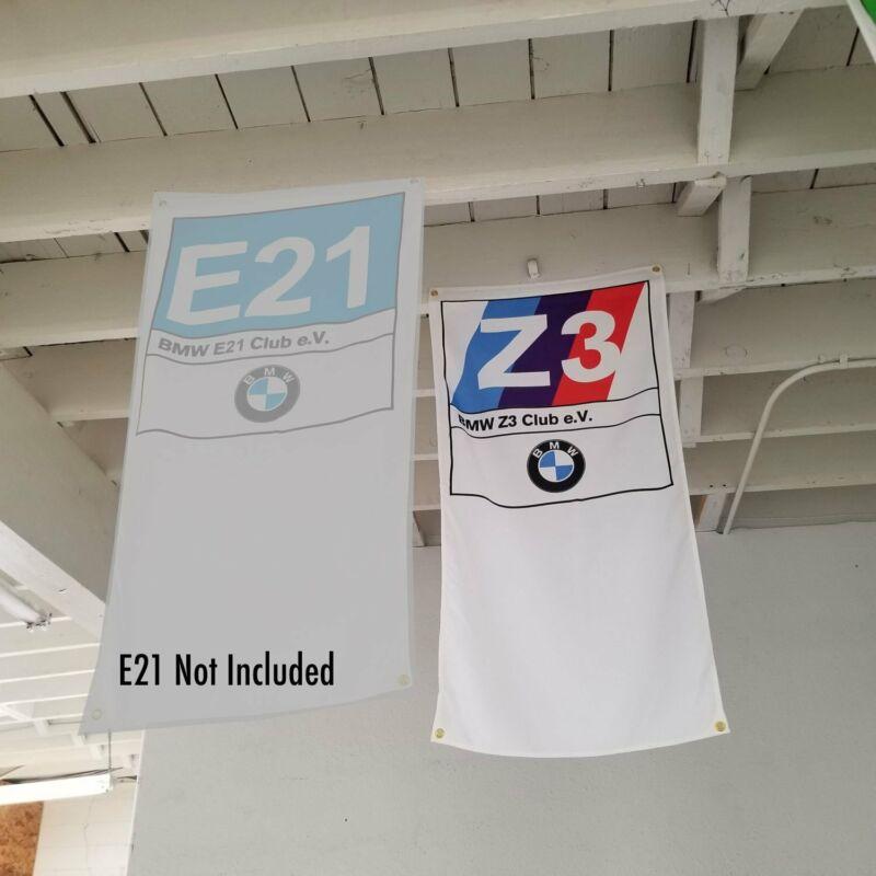 BMW Z3 Club Banner Flag - E36 Z3 alpina M3 M5 dinan 3.0csl hartge roadster coupe