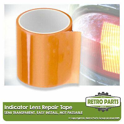 Front Rear Indicator Lens Repair Tape for Fiat. Amber Lamp Seal MOT