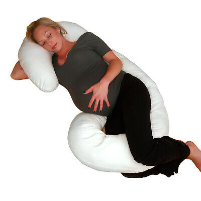 Total Comfort Body Pillow Replacement Cover - Stain-Resistan