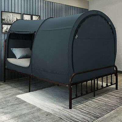 Canopy Bed Dream Privacy Space Bunk Twin Size Sleeping Tents