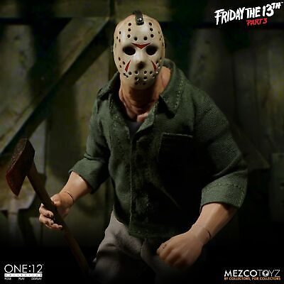 Jason Part 12 (Jason Voorhees Mezco Toys One:12 Friday The 13th Part 3 Action)