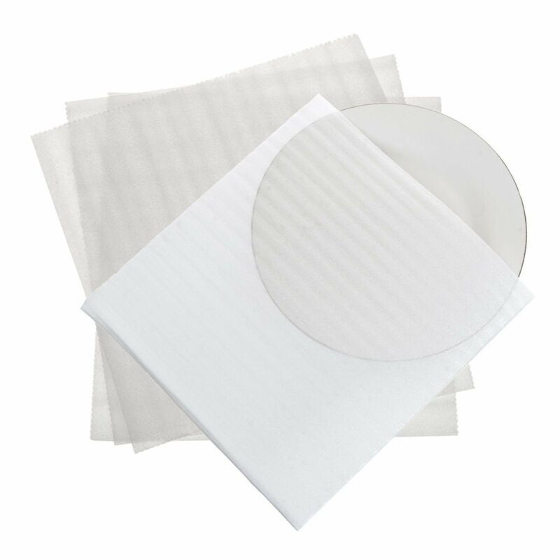 """Cushion Foam Moving Pouch 11 7/8""""x 12 1/8"""" Moving Supplies Fragile Dishware 50pk"""