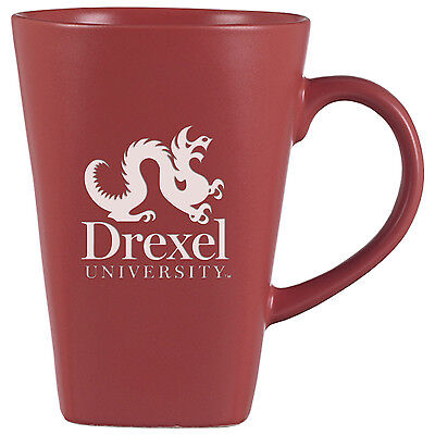 Drexel University  14 Oz  Ceramic Coffee Mug Pink