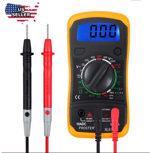 Digital Multimeter Pocket Tester Meter DMM DC AC Current Voltmeter    LCD light Business & Industrial