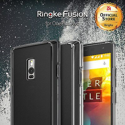 For OnePlus Two 2 Case | Ringke FUSION Clear Shockproof Protective Phone