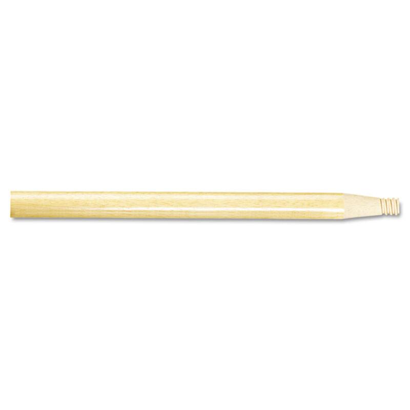 "Boardwalk Threaded End Broom Handle 15/16"" x 60"" Natural Wood 122"