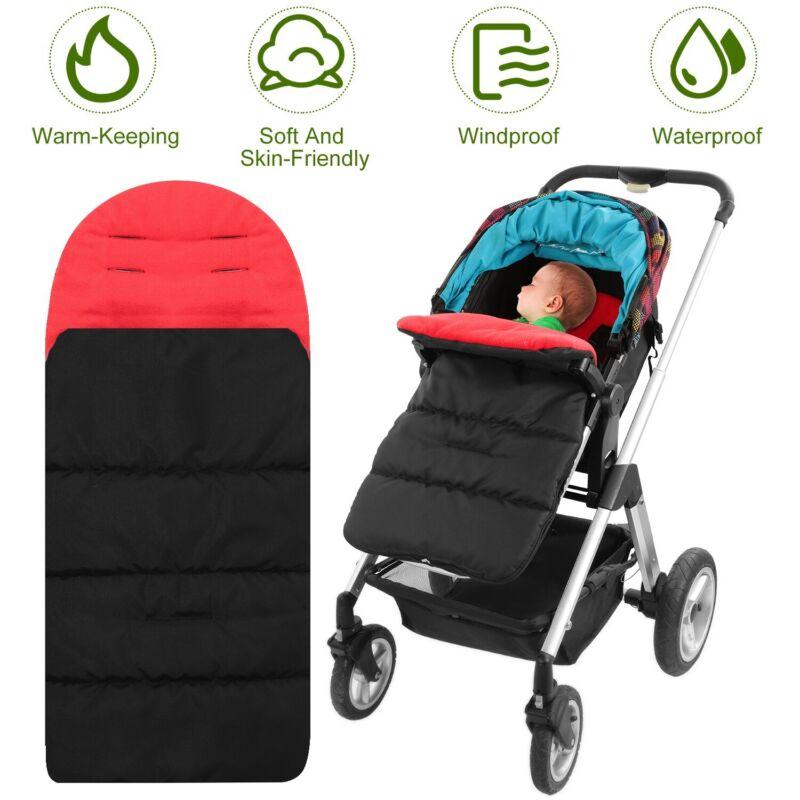 Universal Baby Stroller Sleeping Bag Pushchair Pram Car Seat Footmuff Blanket US