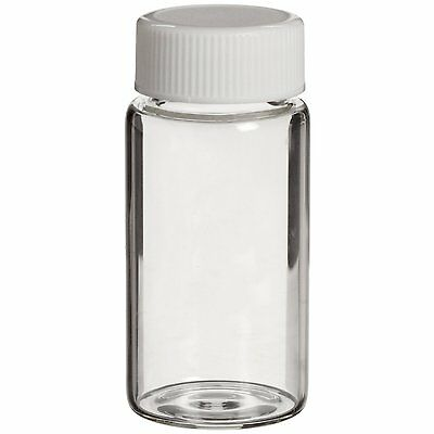 10x Lab Chemical Sample Glass Beads Crafts Storage Bottle Vial Tube Container