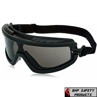 Radians Barricade Smokegray Anti Fog Safety Goggles Glasses Lightweight Z87