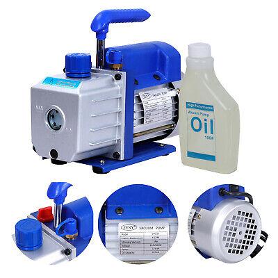 4cfm Rotary Vane Deep Vacuum Pump Hvac Tool For R410a R134 Refrigeration Ac