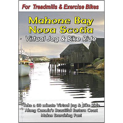 MAHONE BAY NOVA SCOTIA JOG & BIKE RIDE CYCLING VIDEO EXERCISE & FITNESS DVD