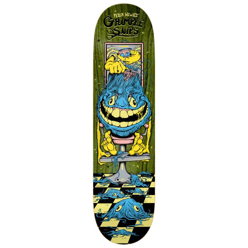 "Anti Hero Skateboard Deck Hewitt Gimple Snips 8.4"" x 32"" Assorted Colors"