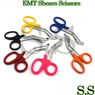 6 Pcs Paramedic Emt Trauma Shears Scissors Utility Scissors 5.5