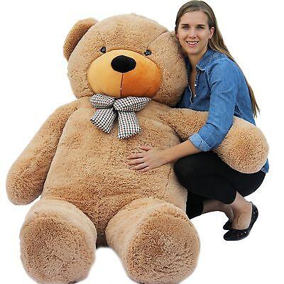 "JoyfayВ® 78""  6.5ft Giant Teddy Bear 200cm Brown Huge Plush Toy  Birthday Gift"