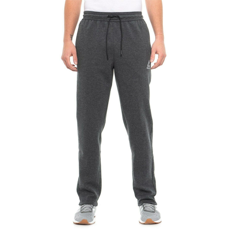 Reebok Men Pants GRAY Small Medium & Large NO FOUL Jogger Sw