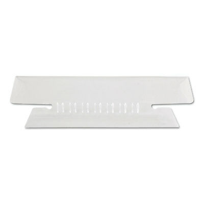 Pendaflex Hanging File Folder Tabs 13 Tab 3 12 Inch Clear Tabwhite Insert 25