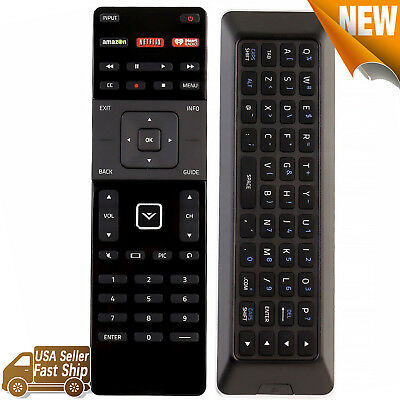 New for Vizio Smart TV Remote Control XRT500 with Qwerty Keyboard Backlight LED
