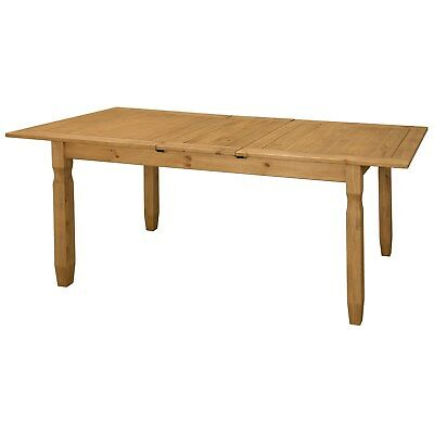 Corona Solid Pine Wood Large Extending 6-8 Seater Dining Table
