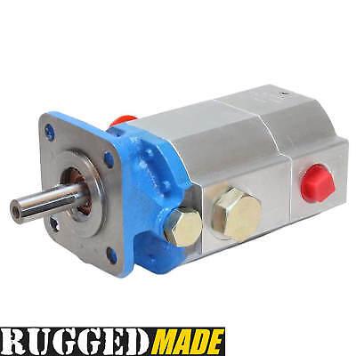 13 Gpm Hydraulic Log Splitter Pump 2 Stage Hi Lo Gear Logsplitter Pump 3000 Psi