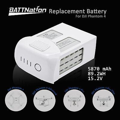 DJI Phantom 4 Pro Alert Flight Replacement Battery 5870mAh High Capacity