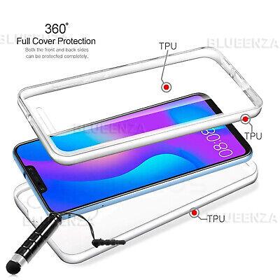 FULL COVER 360° Protector Gel Case Cover For Motorola Moto G7 Power G8 Plus