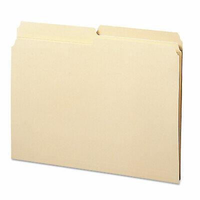 Smead Folders 12 Cut Assorted Reinforced Top Tab Letter Manila 100box 10326