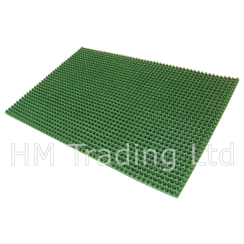 Outdoor door mat plastic astro artificial grass turf look entrance scraper ebay - Front door mats as a guest greeting tool ...