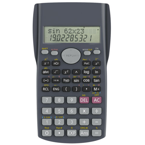 Helect H1002 2-Line Engineering Scientific Calculator
