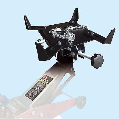 1/2 ton Transmission Jack Adapter Capacity TRANSFORM Automotive Floor Jack ()